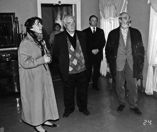 Писатель Виктор Астафьев гостил в «Тарханах» четыре дня в 1996 году