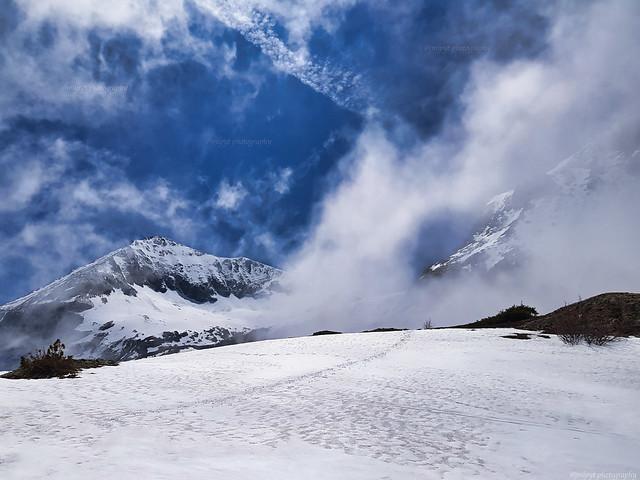 la Pyramide, 2 838 m, Massif du Taillefer, Alpes