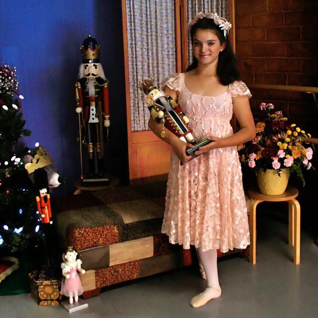 Photoshoot of Alice As Clara At The Nutcracker Party