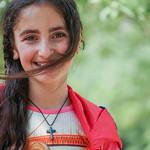 Armenian girl at local festival