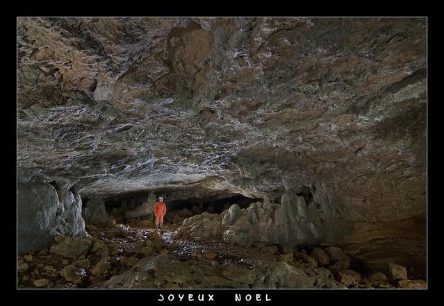 Grotte de la Baume de Lods - Joyeux Noel -