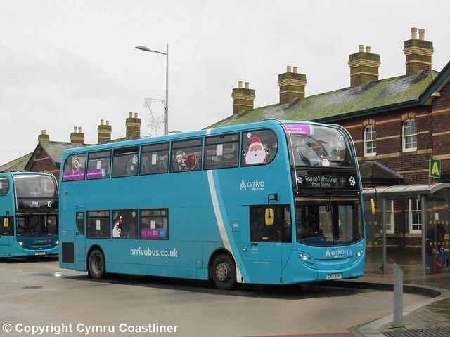 Rhyl's Christmas Bus