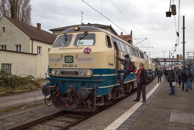 DB 218 460 + 218 446 Lindau