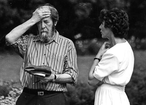 В 1995 году в «Тарханы» приезжал Александр Солженицын, и Тамара Михайловна проводила для него экскурсию по усадьбе