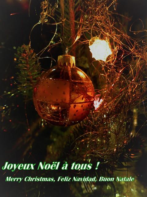 Joyeux Noël à tous et chacun dans son coin...