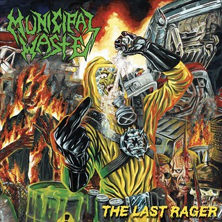 Album Review: Municipal Waste - The Last Rager