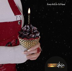 Chistmas cupcake GIFT by ChicChica @ Cosmopolitan