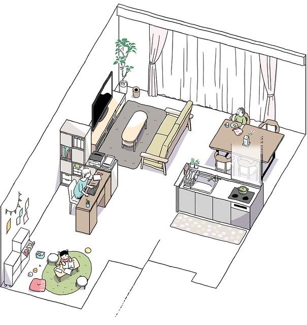 阪急阪神不動産のマンション <ジオ>「理想の一邸」ON&OFF