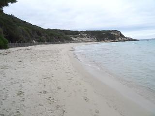 Sentier de Sperone : plage de Grand Sperone