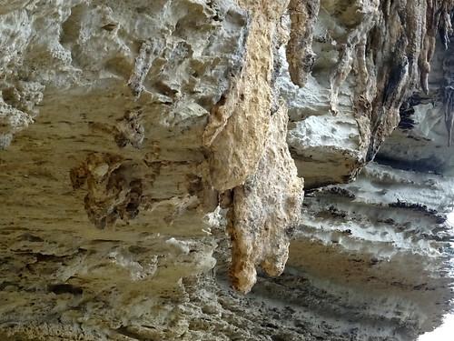Traversée de Cala di Labra : stalactite corallien