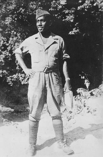Sergeant KNIL, Julius Tahija.