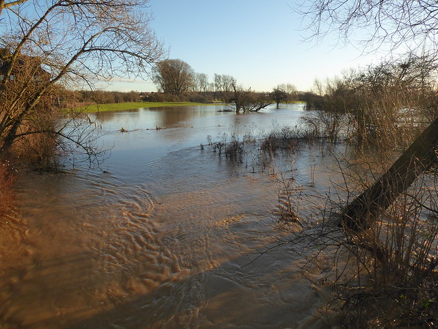 Crow Mills flooding (24/12/20)