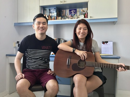 Guitar lessons Singapore Nichole