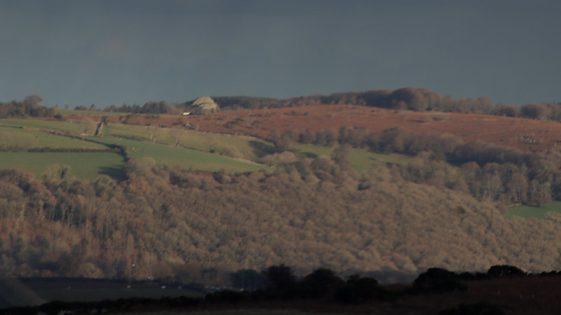 Blackingstone Rock from Shapley Common Car park