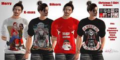 Merry Christmas Bikers T-shirt