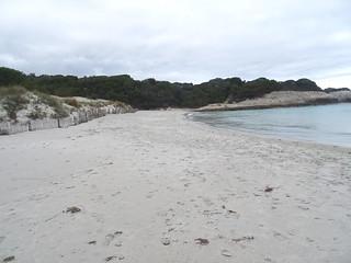 Petit Sperone : la plage