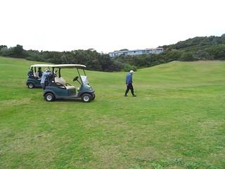 Sentier de Sperone : les golfeurs