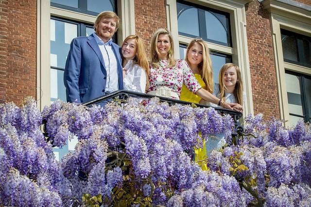 Kerstkaart Koninklijk gezin Nederland (2020)