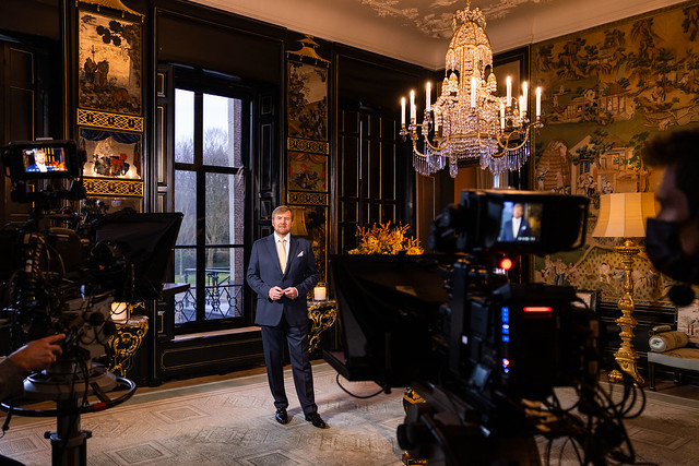 Kerstboodschap Koning Willem-Alexander der Nederlanden (2020)