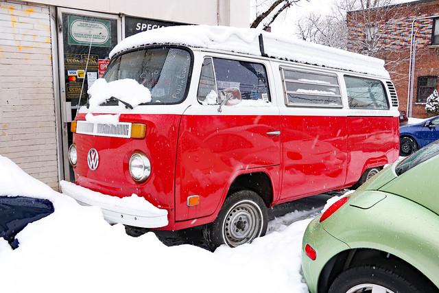 Christmassy VW
