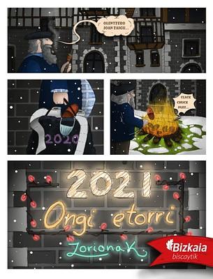 Txori Onak (Zorionak) eta Egun Berri (Eguberri) 2021