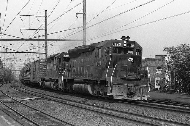 Conrail EMD SD45 6129