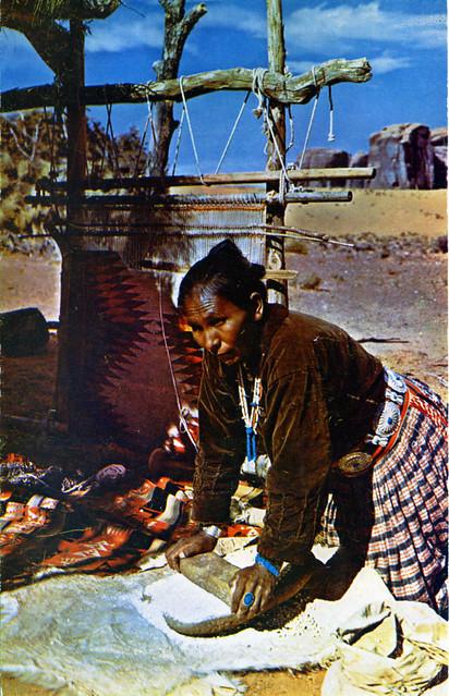 Navajo Indian Grinding Meal AZ NM