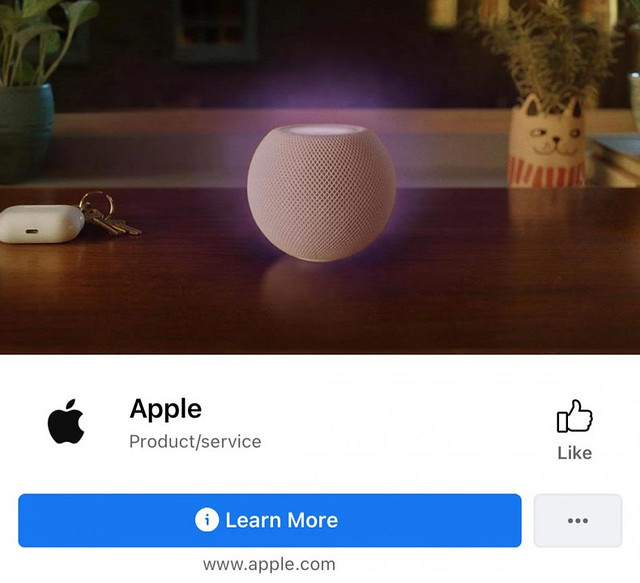 Akaun Apple Di Facebook Tidak Lagi Mempunyai Lencana Pengesahan Identiti (Bluetick)