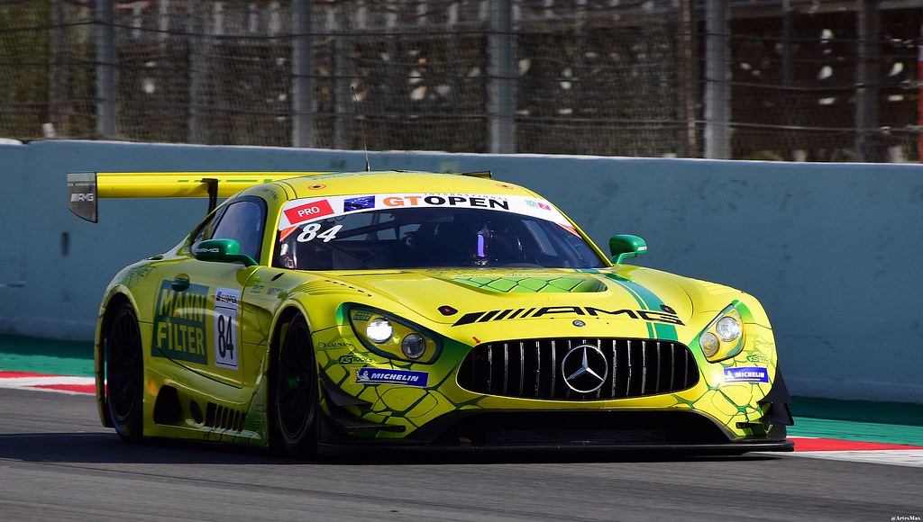Mercedes AMG GT3 / Russell Ward / USA / Indy Dontje / NLD / Winward Racing / HTP Motorsport
