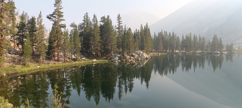 Dollar Lake from the Pacific Crest Trail