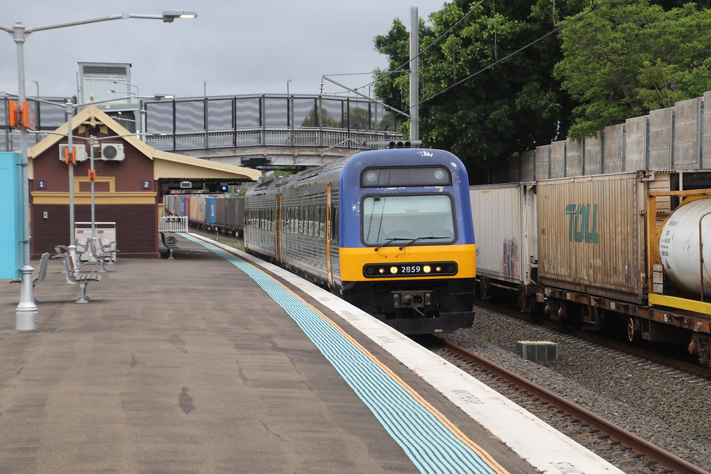 NSW Trains' - SN59 - Sefton, NSW