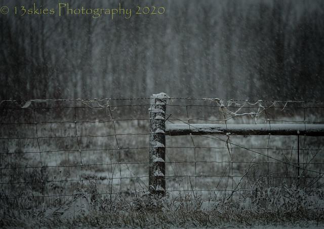 Snow on Christmas Eve (HFF) (Explored)