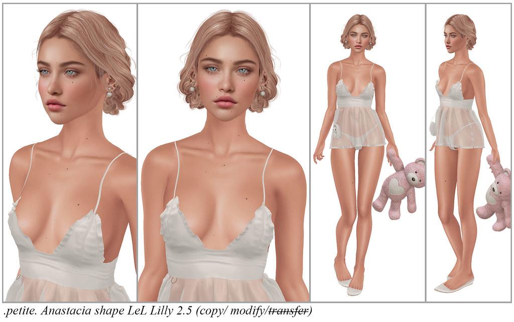 .petite. Anastacia shape LeL Lilly 2.5+Maitreya Petite