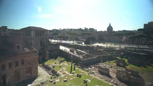 ROMA ARCHEOLOGICA & RESTAURO ARCHITETTURA 2020. Rome, Italy & the Pandemic - Inspired Learning. Teachers are still finding unique ways to inspire their classrooms. Source: Christopher Livesay / CBS WEEKEND NEWS, USA & Rome, Italy (20-21 Dec., 2020).