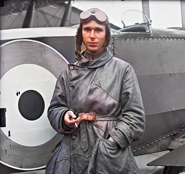 ALLIED AIRCRAFT DEMONSTRATION AT POLO GROUNDS. LT. STEPHEN BONSALL, BRITISH 1917_colorSAI_result