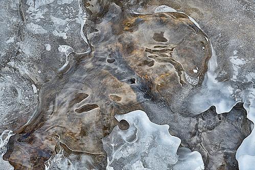 eechillington nikond7500 viewnxi corelpaintshoppro provocanyon utah ice patterns water abstract nature
