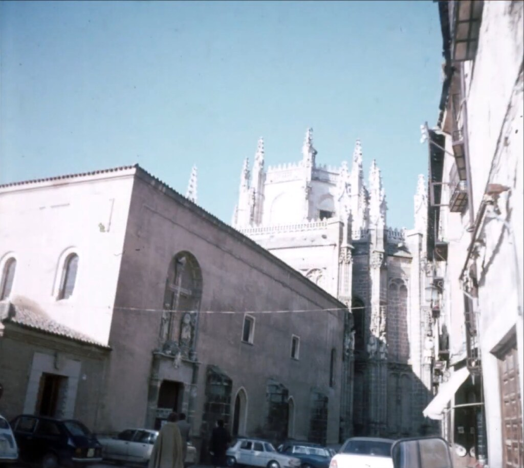 Monasterio de San Juan de los Reyes en Toledo el 30 de diciembre de 1977. Fotografía de Peter Laurence