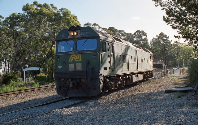 Belair before the railcar depot