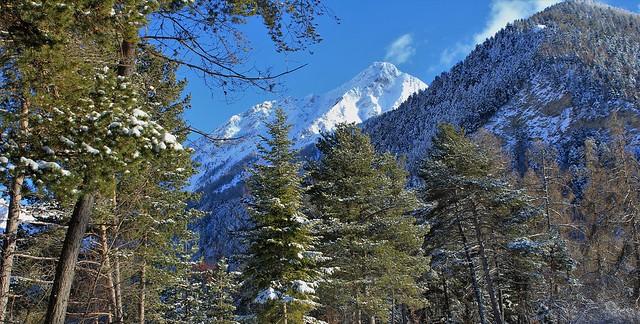 La Grande Autane.  Vallée de la Rouanne, Hautes-Alpes