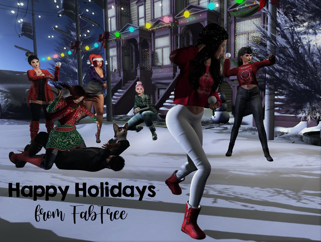 Merry Christmas & Happy Holidays from FabFree!