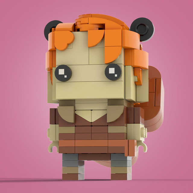 Brickheadz Squirrel Girl