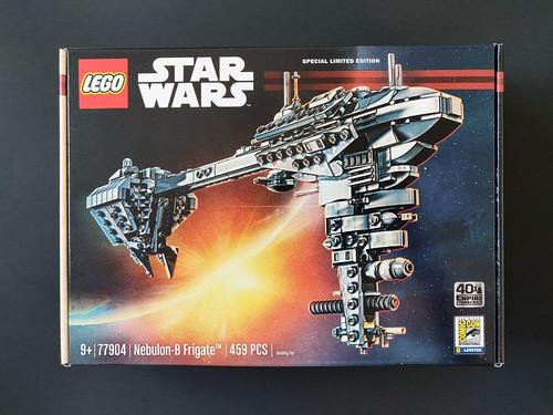 LEGO Star Wars SDCC 2020 Nebulon-B Frigate Giveaway