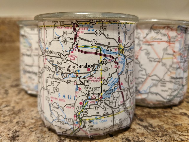 20-12-24 Geocaching Map Candles