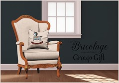 French Country Wingback Chair, Group Gift