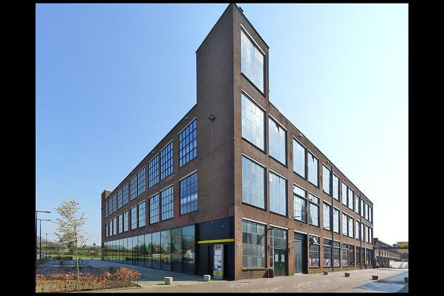 hengelo fabriekscomplex hazemeyer fabrieksgebouw 1957 01 1957 (tuindorpstr)