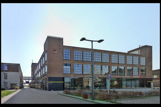 hengelo fabriekscomplex hazemeyer fabrieksgebouw 1957 02 1957 (tuindorpstr)