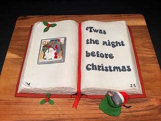 Storybook Christmas Cake