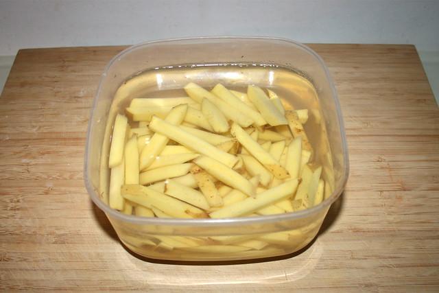02 - Store potatoes in water / Kartoffeln in Wasser lagern