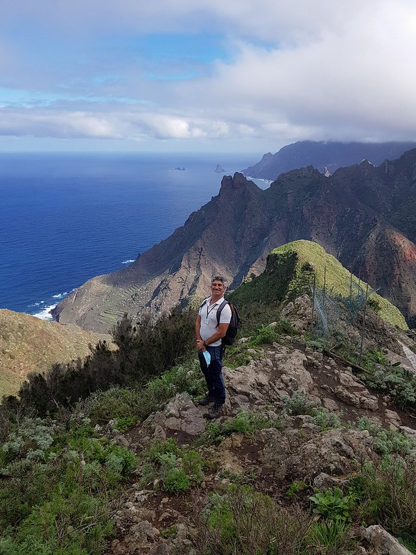 Cao, guía de Anaga Experience, Tenerife