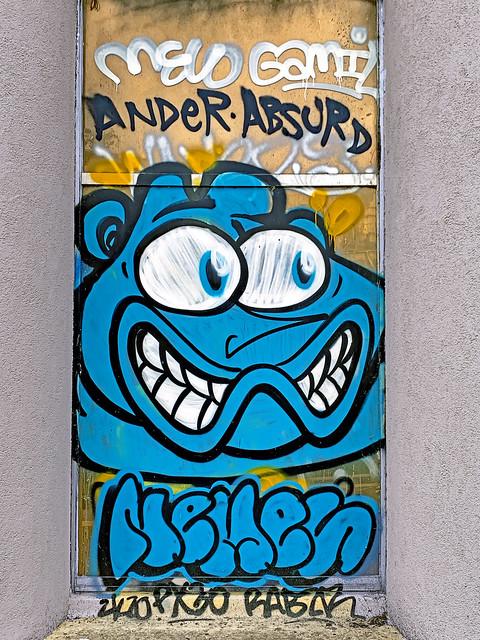 France. Paris' Street Art.